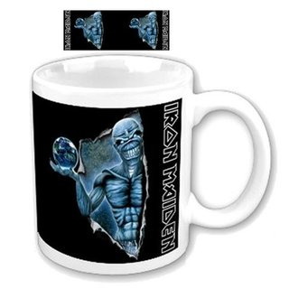 cup Iron Maiden - Different World Boxed Mug - ROCK OFF, ROCK OFF, Iron Maiden