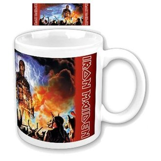 cup Iron Maiden - Wicker Man Boxed Mug - ROCK OFF, ROCK OFF, Iron Maiden