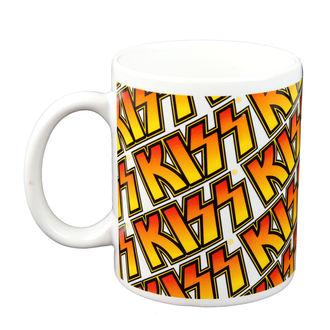 cup - KISS - Boxed Mug Kiss (Tiles) - ROCK OFF - KISSMUG01