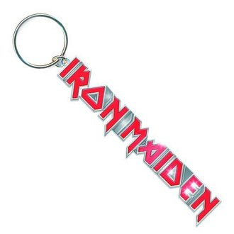 key ring (pendant) Iron Maiden - Logo with Tails Key Chain - ROCK OFF - IMKEY01