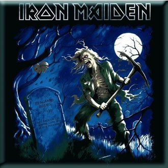 magnet Iron Maiden - Benjamin Breeg Fridge Magnet - ROCK OFF - IMMAG08