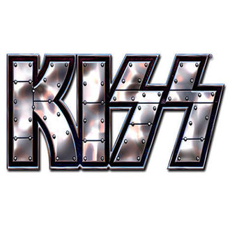 pin badge Kiss - Stud Logo pin badge - ROCK OFF, ROCK OFF, Kiss