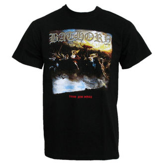 t-shirt metal men's Bathory - Blood Fire Death - PLASTIC HEAD - PH5418