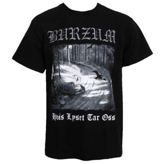 Metal T-Shirt men's Burzum - Hvis Lyset Tar Oss - PLASTIC HEAD - PH5604