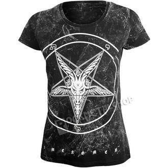 t-shirt hardcore women's - GOAT - AMENOMEN - OMEN001DA ALLPRINT WHITE
