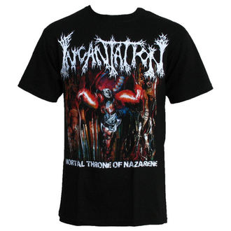 t-shirt men INCANTATION-MORTAL THRONE, RELAPSE, Incantation