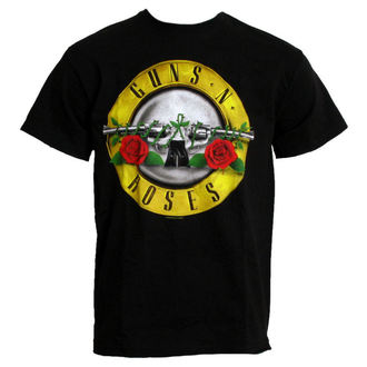 t-shirt metal Guns N' Roses - Classic Logo - ROCK OFF - GNRTS04MB