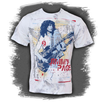 t-shirt metal Jimmy Page - Double Your Pleasure - LIQUID BLUE - 11613