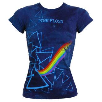 t-shirt metal Pink Floyd - Prism Longer Length - LIQUID BLUE - 13974