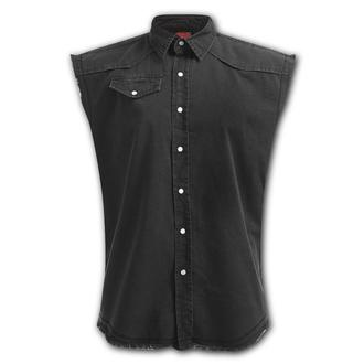 shirt men sleeveless SPIRAL - Sleeveless Workers - PL 880