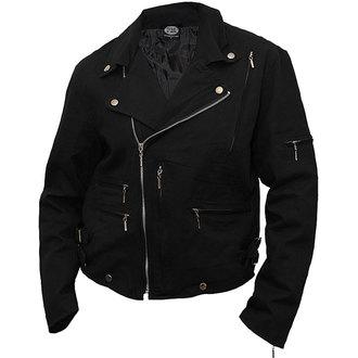 jacket men spring/fall (suit jacket) SPIRAL - Lined Biker - PL750