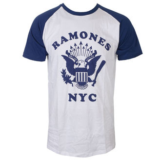 t-shirt metal men's Ramones - Retro Eagle - ROCK OFF, ROCK OFF, Ramones