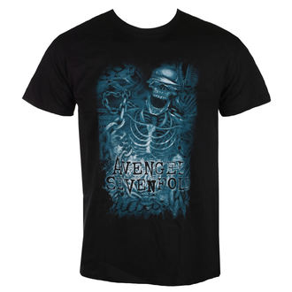 Metal T-Shirt men's Avenged Sevenfold - Chained skeleton - ROCK OFF - ASTS07MB