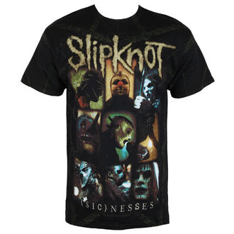 t-shirt metal men's Slipknot - Nesses Jumbo Print - BRAVADO - 15092147