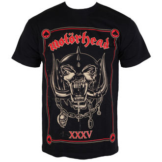 t-shirt metal men's Motörhead - Anniversary - ROCK OFF - MHEADTEE05MB