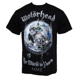 Metal T-Shirt men's Motörhead - The World Is Your - ROCK OFF - MHEADTEE14MB