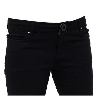pants women -skinny- IRON FIST - Heatlocked - BLACK - IFL0570