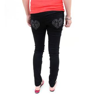 pants women -skinny- IRON FIST - Heatlocked - BLACK - IFL0570