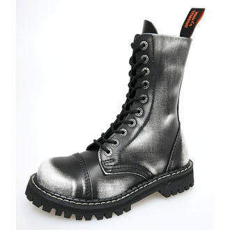 leather boots - KMM - White/Black-100