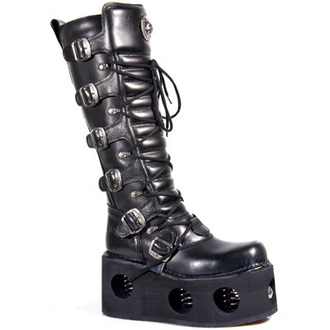 leather boots women's - 272-S2 - NEW ROCK, NEW ROCK