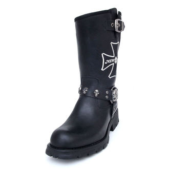 leather boots women's - NEW ROCK - M.7622-S1