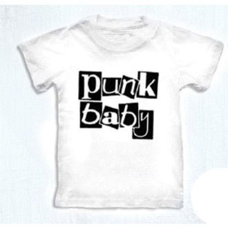 t-shirt metal children's - Punk Baby - ROCK DADDY - 16007-006, ROCK DADDY