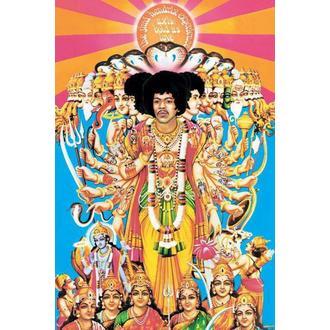poster Jimi Hendrix (Axis Bold As Love) - PYRAMID POSTERS, PYRAMID POSTERS, Jimi Hendrix