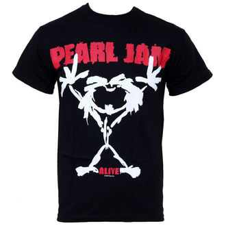 t-shirt metal men's Pearl Jam - Stickman - LIVE NATION, LIVE NATION, Pearl Jam