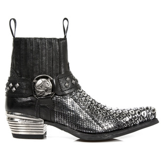 leather boots women's - PYTHON RETICULATUS ACERO NOMADA - NEW ROCK, NEW ROCK