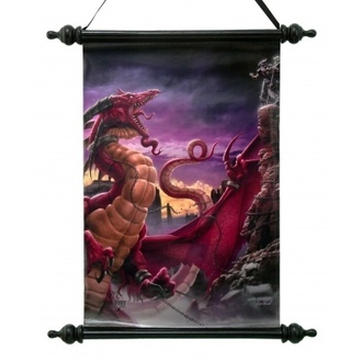 scroll Art Scroll - Unleash The Dragon