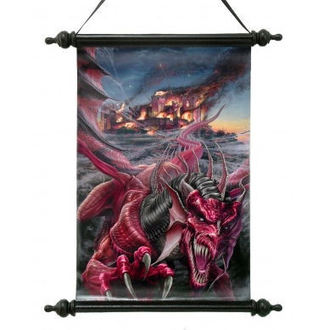 scroll Art Scroll - Dragons Night