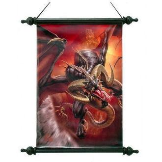 scroll Art Scroll - Dragon Raid