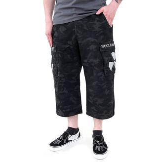 shorts men Black Camouflage - NUCLEAR BLAST, NUCLEAR BLAST