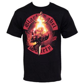 t-shirt metal men's Black Label Society - Flaming Skull - BRAVADO, BRAVADO, Black Label Society