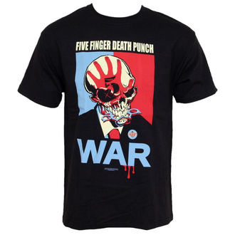 t-shirt metal men's Five Finger Death Punch - War - BRAVADO - FDP2003
