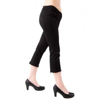 shorts 3/4 women Black Pistol - Zipper Slacks Denim Black, BLACK PISTOL