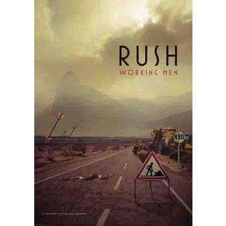 flag Rush - Working Men, HEART ROCK, Rush