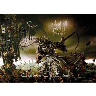 flag Children Of Bodom - Relentless, HEART ROCK, Children of Bodom