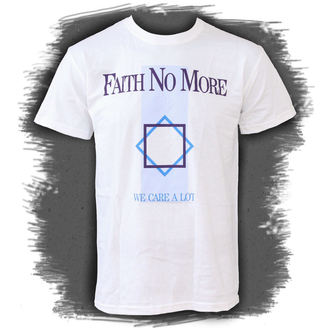 t-shirt metal men's Faith no More - We Care A Lot - PLASTIC HEAD - PH7371