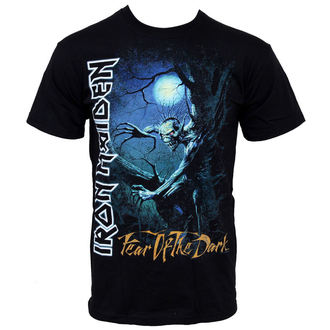 t-shirt metal men's Iron Maiden - Fear Of The Dark - ROCK OFF - IMTEE06MB