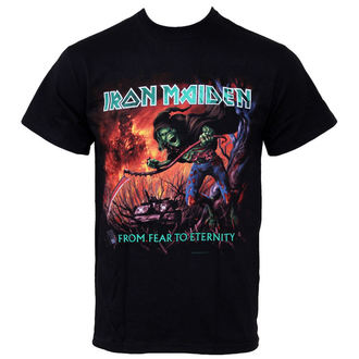 t-shirt metal men's Iron Maiden - From Fear To Eternity - ROCK OFF - IMTEE20MB