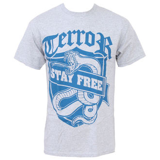 t-shirt metal men's Terror - Stay Free - Buckaneer - 1108