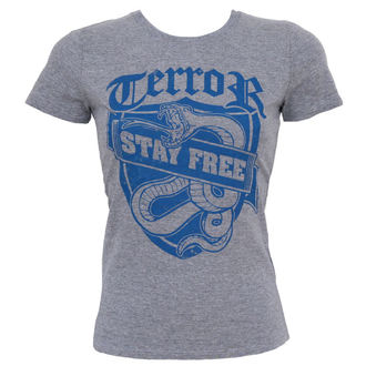 t-shirt metal women's Terror - Stay Free - Buckaneer - 1108