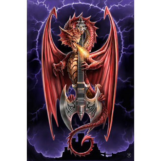poster Anne Stokes - Power Chord, ANNE STOKES, Anne Stokes