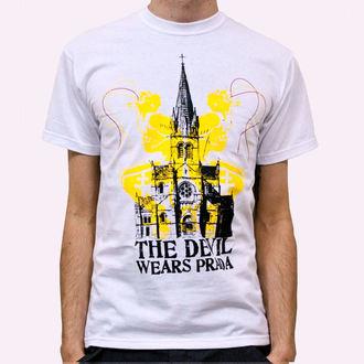 t-shirt metal men's Devil Wears Prada - Church - KINGS ROAD - White, KINGS ROAD, Devil Wears Prada