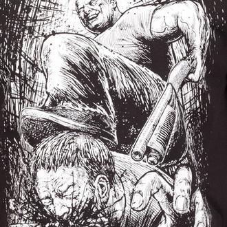 Metal T-Shirt men's Dying Fetus - Curb Stomp - INDIEMERCH - 27841