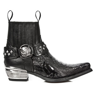 leather boots women's - PYTHON RETICULATUS NOMADA - NEW ROCK