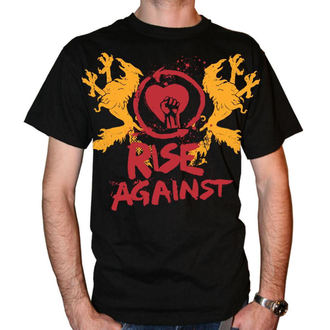 t-shirt metal men's Rise Against - Fist Crest - KINGS ROAD, KINGS ROAD, Rise Against