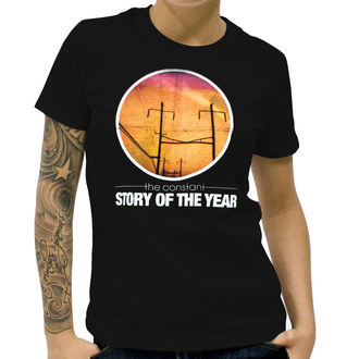 t-shirt metal women's Story of the Year - The Constant - KINGS ROAD - Black, KINGS ROAD, Story of the Year