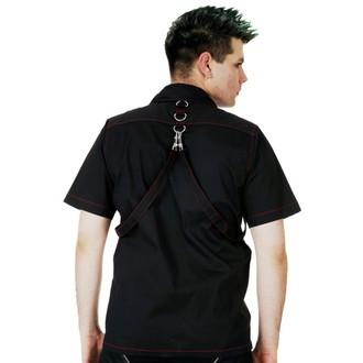 Shirt Men's DEAD THREADS - Blk / Red, DEAD THREADS